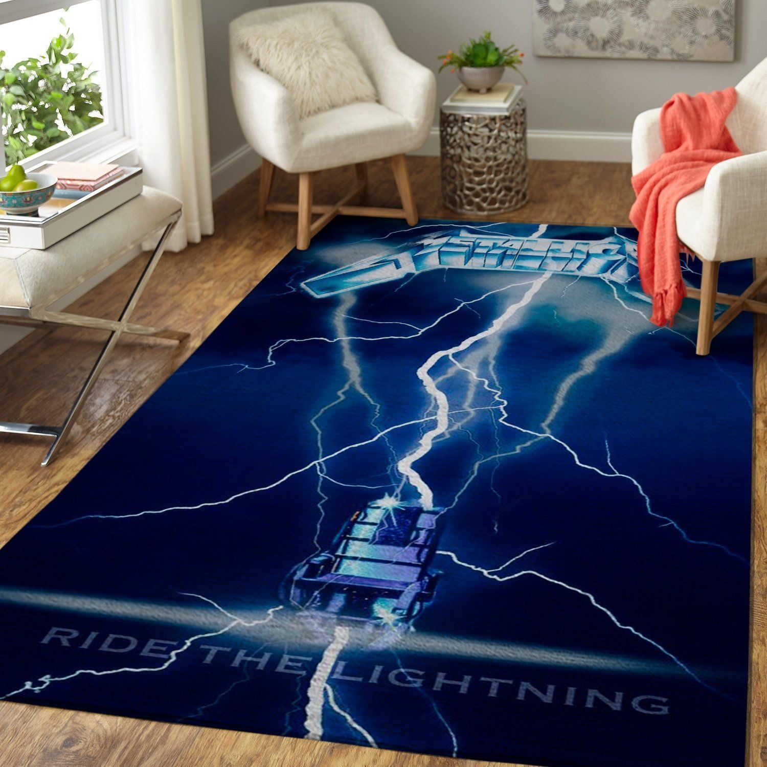 Metallica Area Rug / Music OFD 1910122