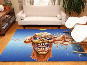 Iron Maiden Area Rug / Music OFD 19110110