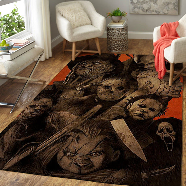 Murderverse for Halloween Area Rug Floor Decor HC290830