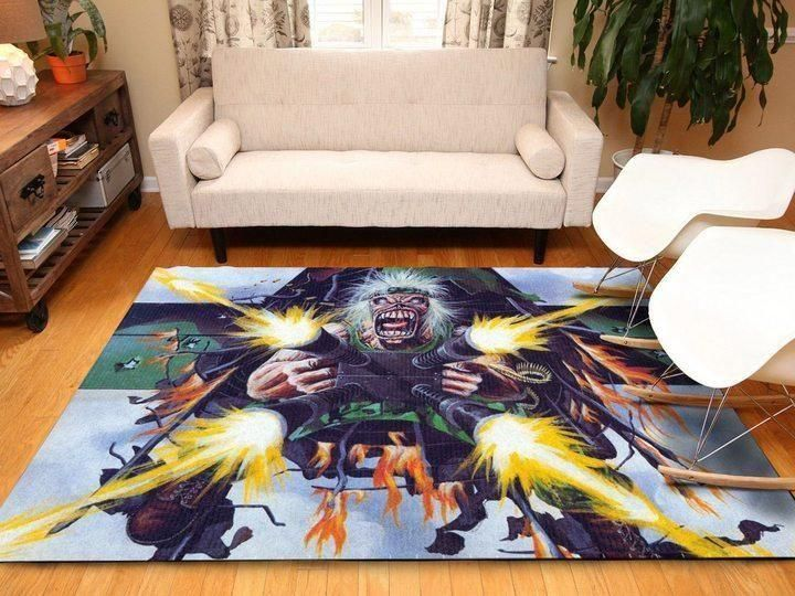 Iron Maiden Area Rug / Music OFD 19110111