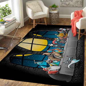 Dinner Before Christmas, The Nightmare Before Christmas Area Rug
