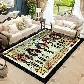 Guns N' Roses Area Rug, Music OFD 190909