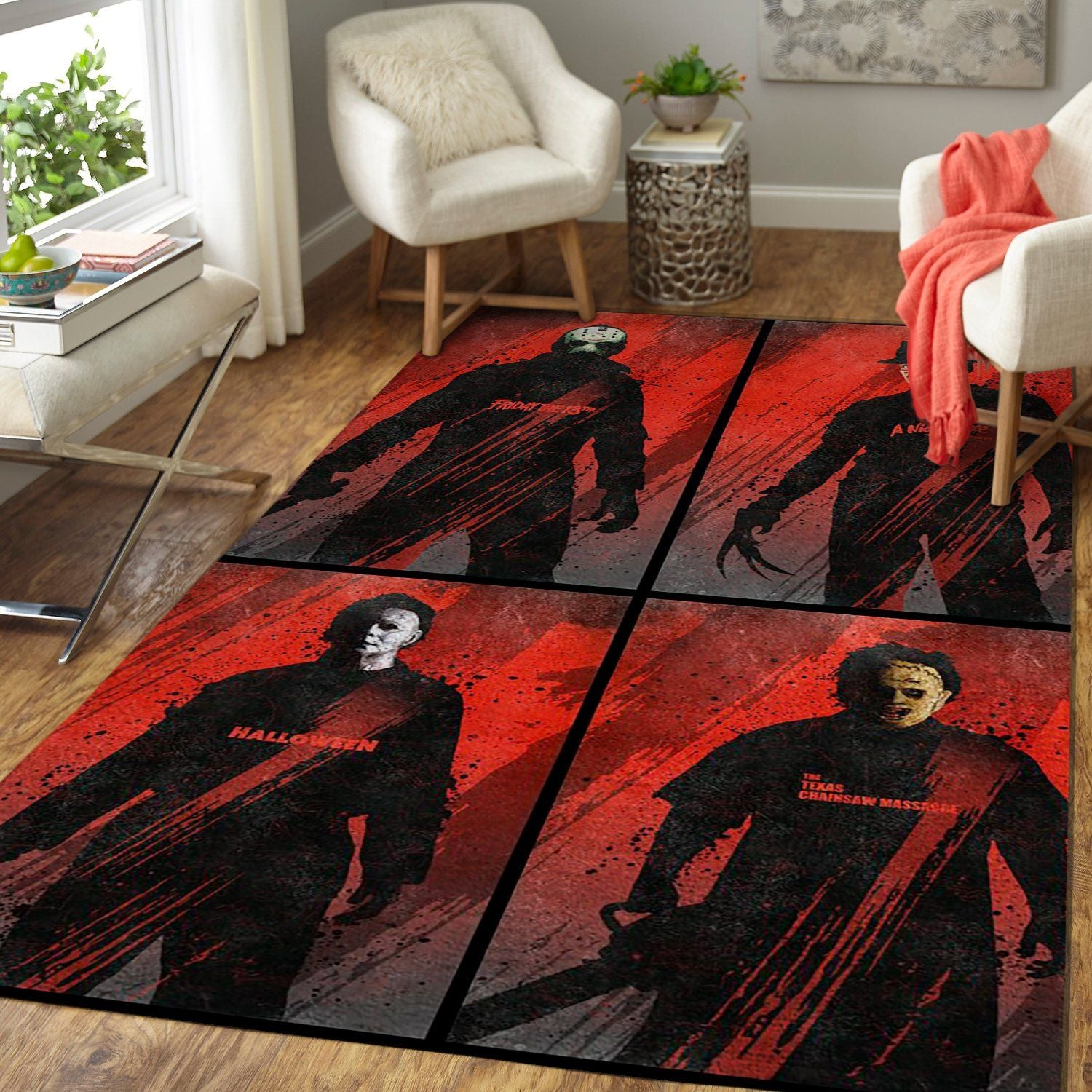 F.R.I.E.N.D.S - Murderverse 4CH290830 Area Rug - Movie Floor Decor