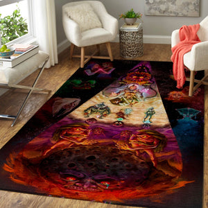 The Legend of Zelda, Majora's Mask Area Rug, Gaming Floor Decor 19101310