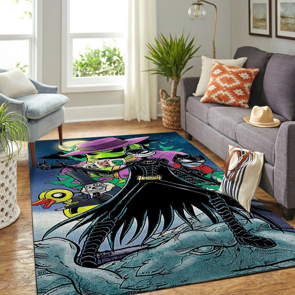 Jack Skellington - The Nightmare Before Christmas Movie 03 - Area Rug Floor Decor