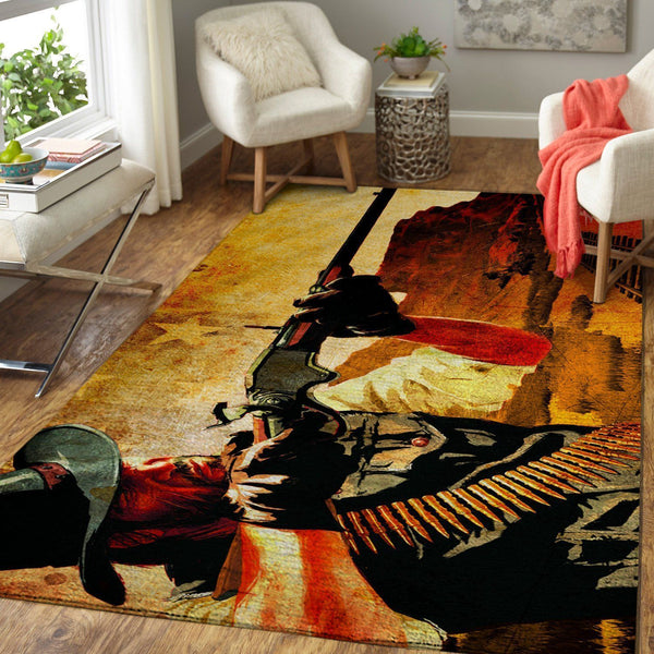 Red Dead Redemption Area Rug / Gaming GFD 19091602