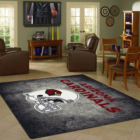 Arizona Cardinals Area Rug Football Area Rug Floor Decor