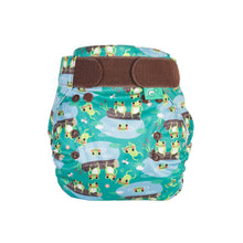 Load image into Gallery viewer, Reusable Nappy EasyFit STAR Five Little Speckled Frogs - Cloth Nappies