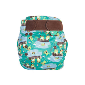 Reusable Nappy EasyFit STAR Five Little Speckled Frogs - Cloth Nappies