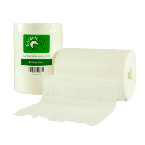Biodegradable disposable nappy liners