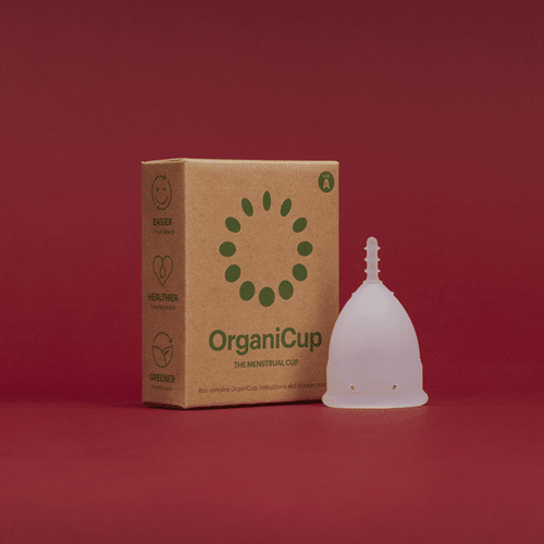 OrganiCup - the menstrual cup that is an eco friendly alternative to pads and tampons