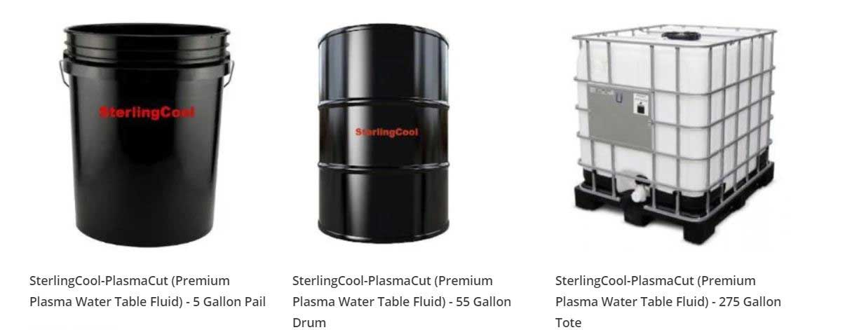 SterlingCool-PlasmaCut Products in 3 Sizes