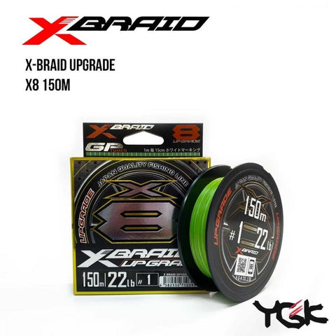 XBraid (YGK) Upgrade X8 150m - BS Fishing