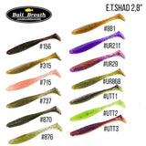 "Bait Breath E.T. Shad 2.8"" (8 cm) - 8pc - BS Fishing"