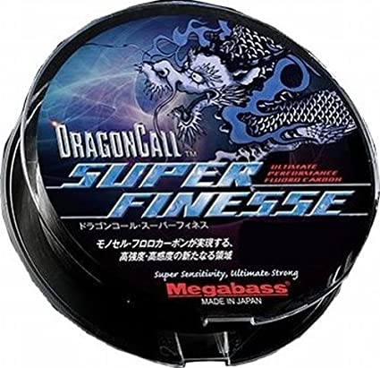 Fluorocarbone MEGABASS Dragon Call Super Finesse - 80 m - BS Fishing