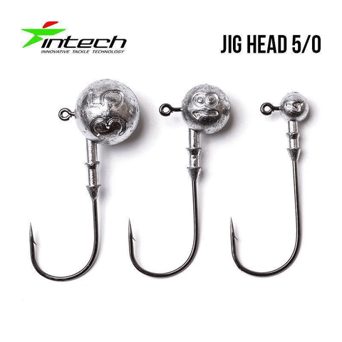 Têtes plombées INTECH DJ Head H5/0 (47mm) - BS Fishing
