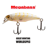 MEGABASS GREAT HUNTING WORLDSPEC 48(F) - 4.8cm - BS Fishing