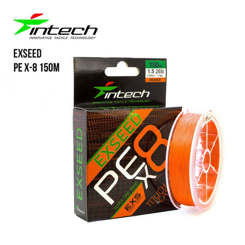 Tresse Intech Exseed PE X-8 150m - BS Fishing
