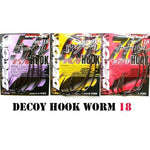 Hameçon Texan Decoy Hook Worm18 (sachet) - BS Fishing