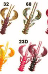 "CRAZY FISH Nimble 1,6"" (4 cm) - 9 pc - BS Fishing"