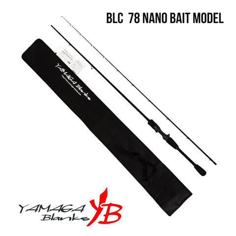 YAMAGA BLANKS Blue Current Bait Model - BS Fishing