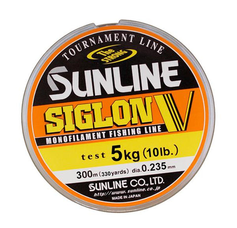 Nylon Sunline Siglon V - 150m - BS Fishing