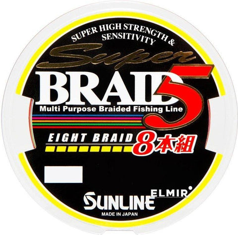 Tresse Sunline Super Braid 5 (8 Braid) 150 / 200 m - BS Fishing