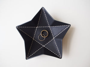 Origami Star Tray -  Small / Black