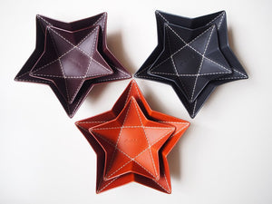 Origami Star Tray -  Medium / Black