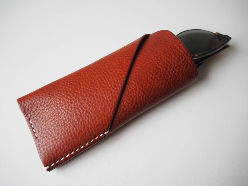 Glasses Case - Tan