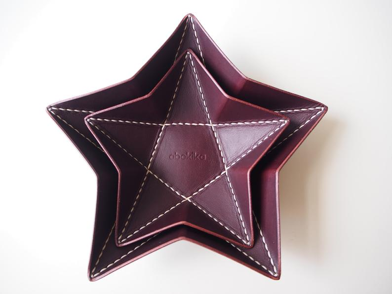Origami Star Tray -  Small / Chocolate