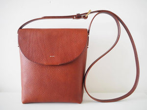 Crossbody Bag - Medium / Tan