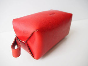 Zipper pouch - Red