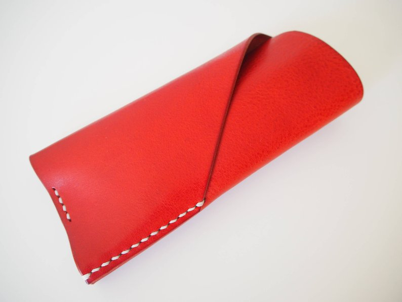 Glasses Case - Red