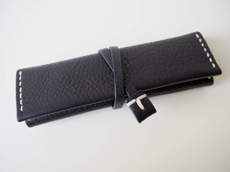 Travel Jewellery Roll - Black