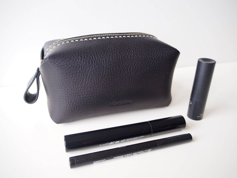 Zipper pouch - Black