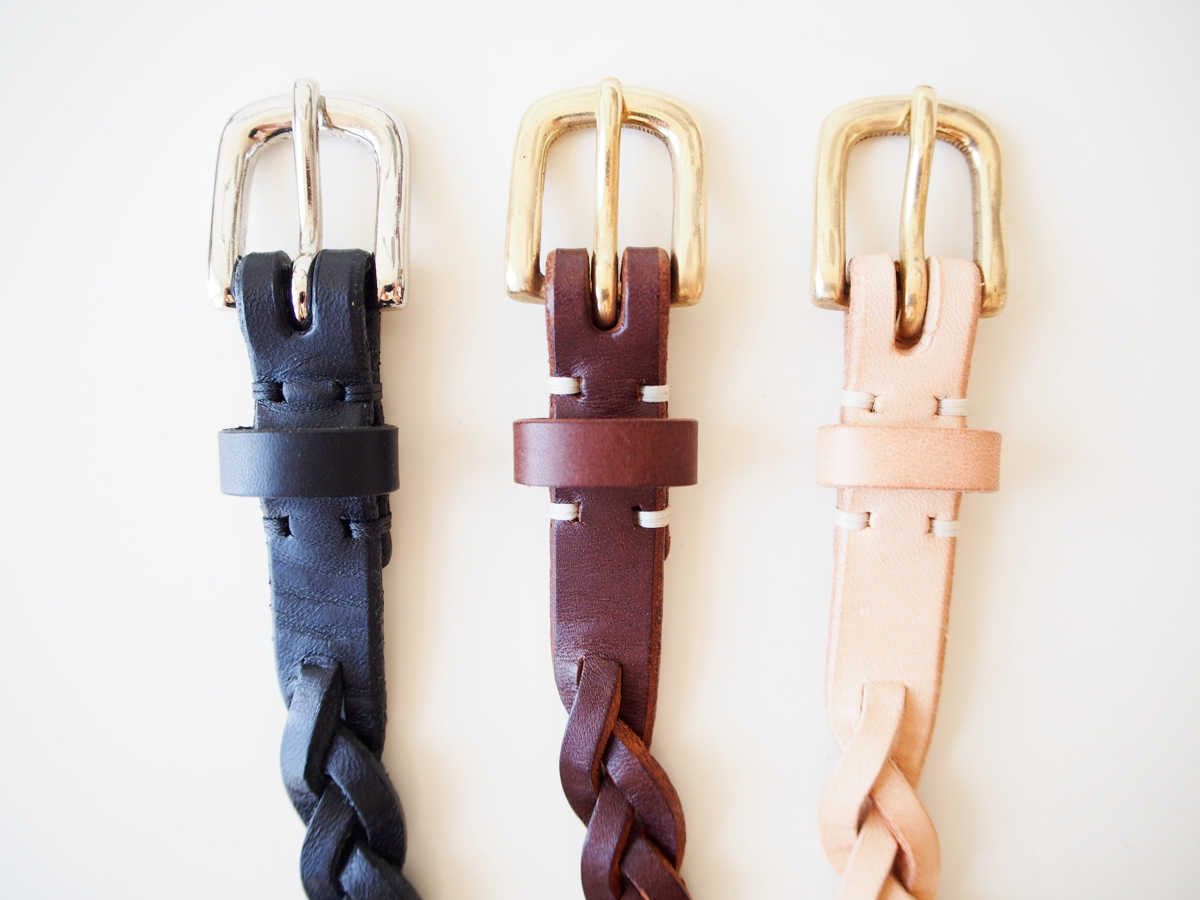 Braided Belt - Black