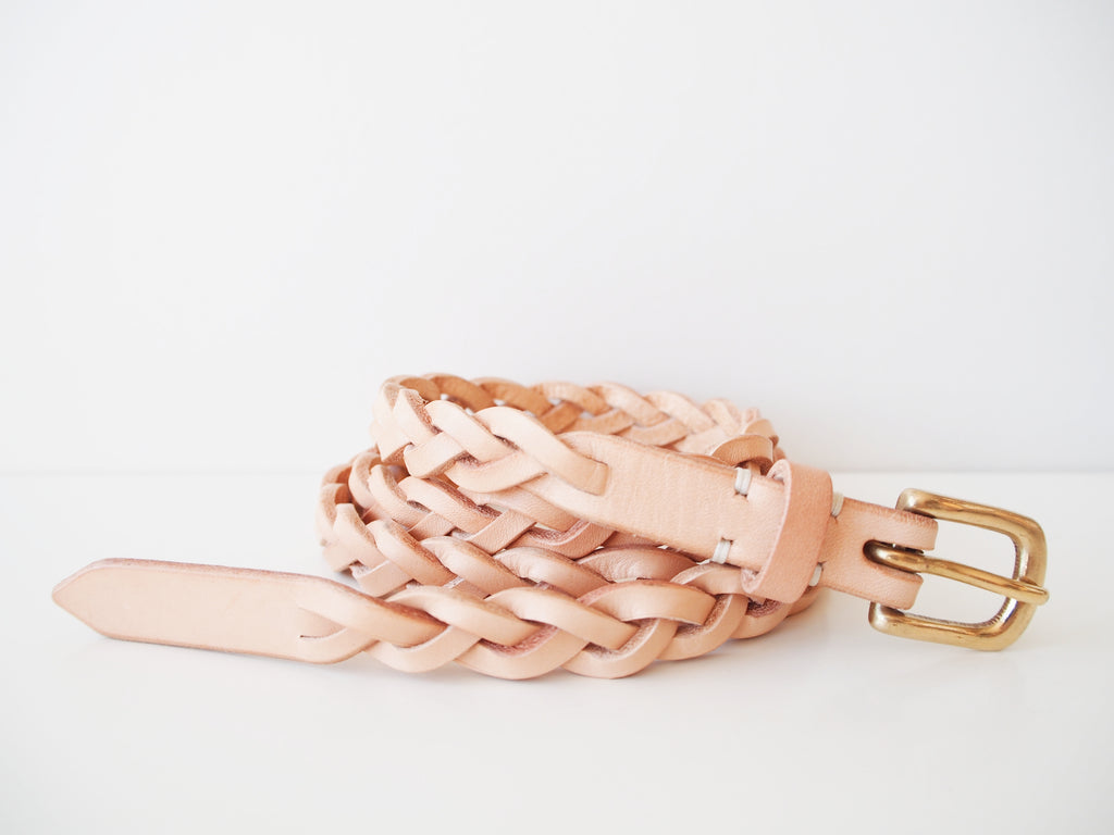 Braided Belt - Natural