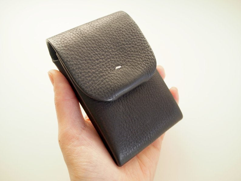 Origami Card Holder - Portrait / Black