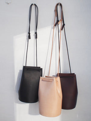 Mini Bucket Bag - Black