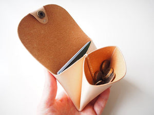 Origami Wallet - Landscape / Natural
