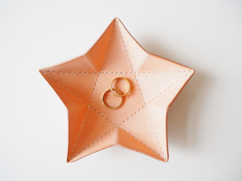 Origami Star Tray -  Small / Natural