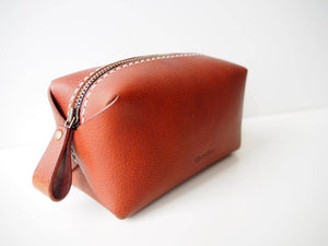 Zipper pouch - Tan