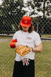 BB SHORT SLEEVE | BRILLIANCE x STITCHES TEE - Baseball Brilliance