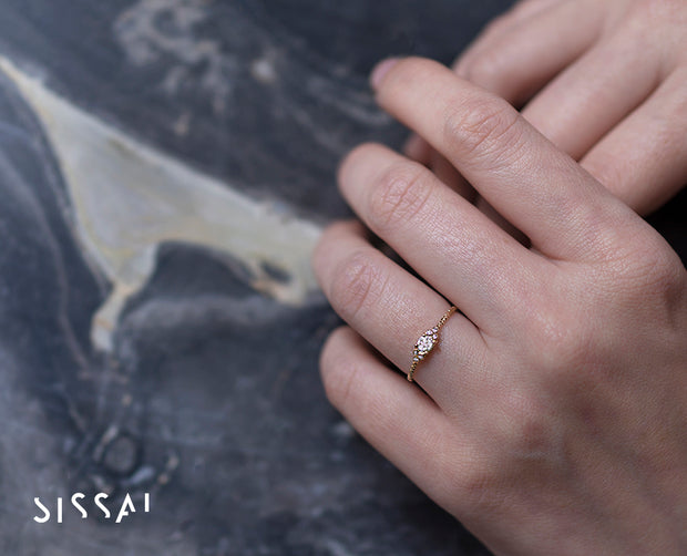 Dreamy Diamond Gold Ring