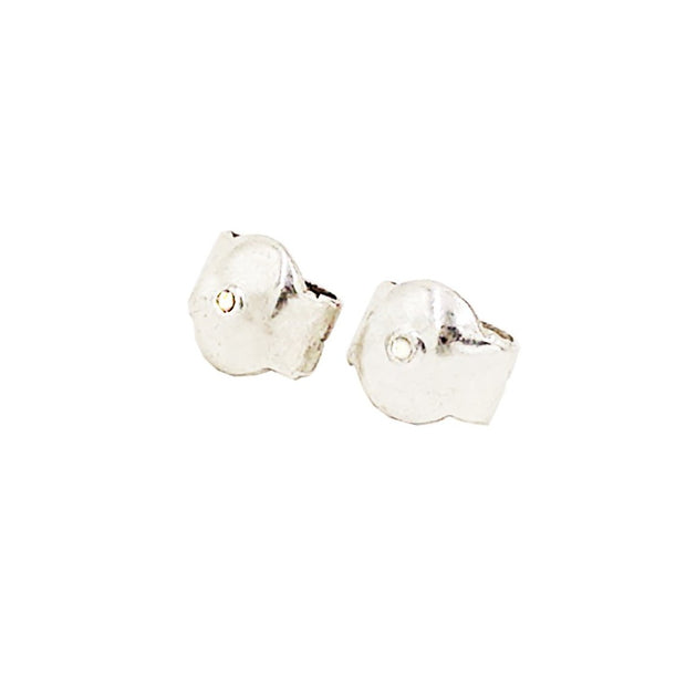 Rombo Silver Earrings