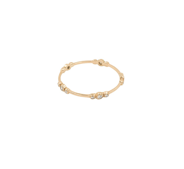 Candy Eternity Gold Ring