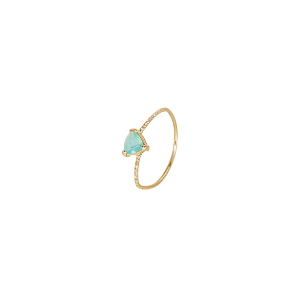 Andean Opal Trillon Gold Ring