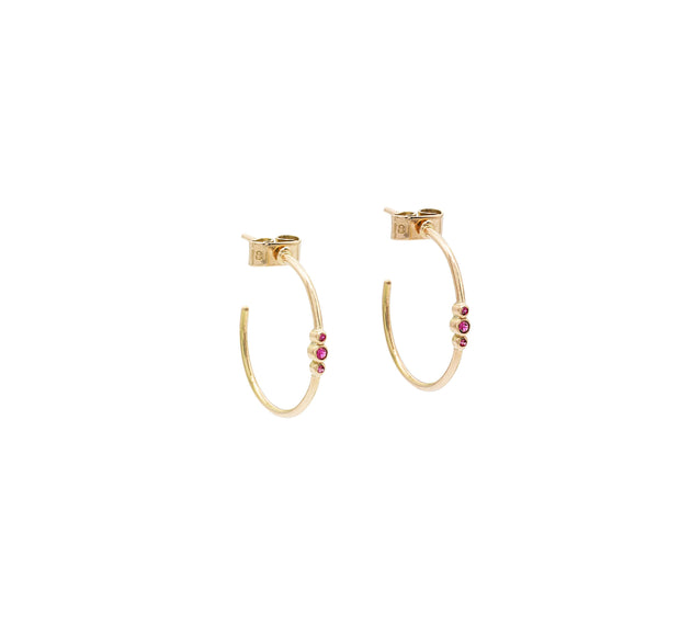 Candy Gold Hoops