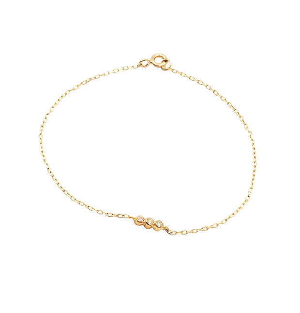 Friendship Gold Bracelet